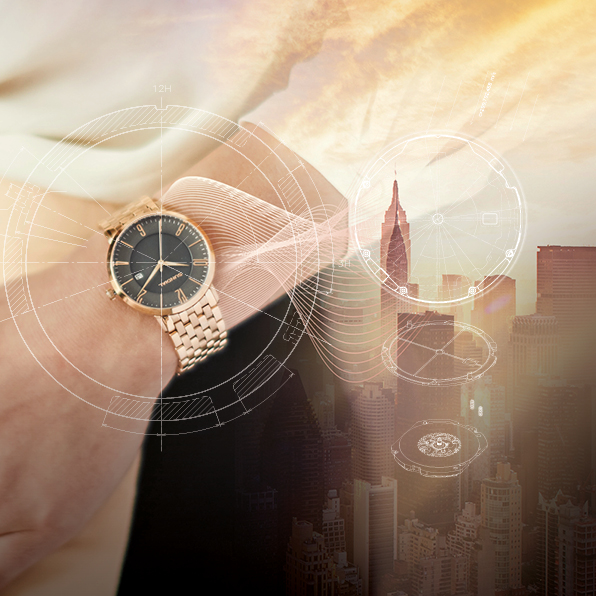 sundial watch advertising