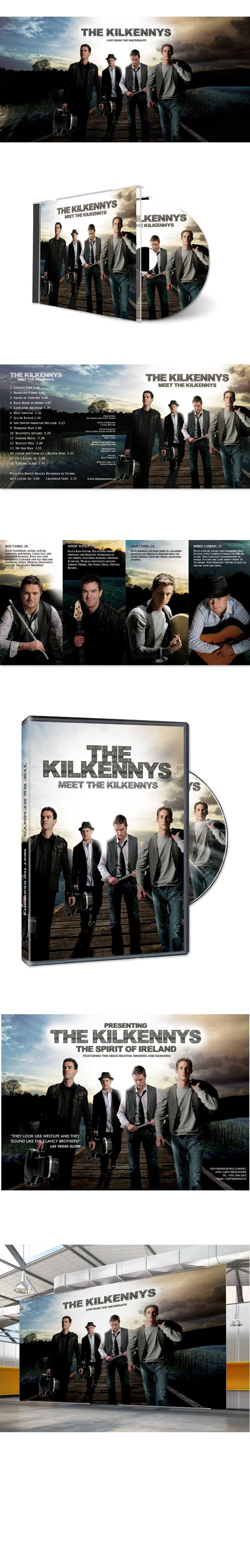 the kilkennys trad music album design