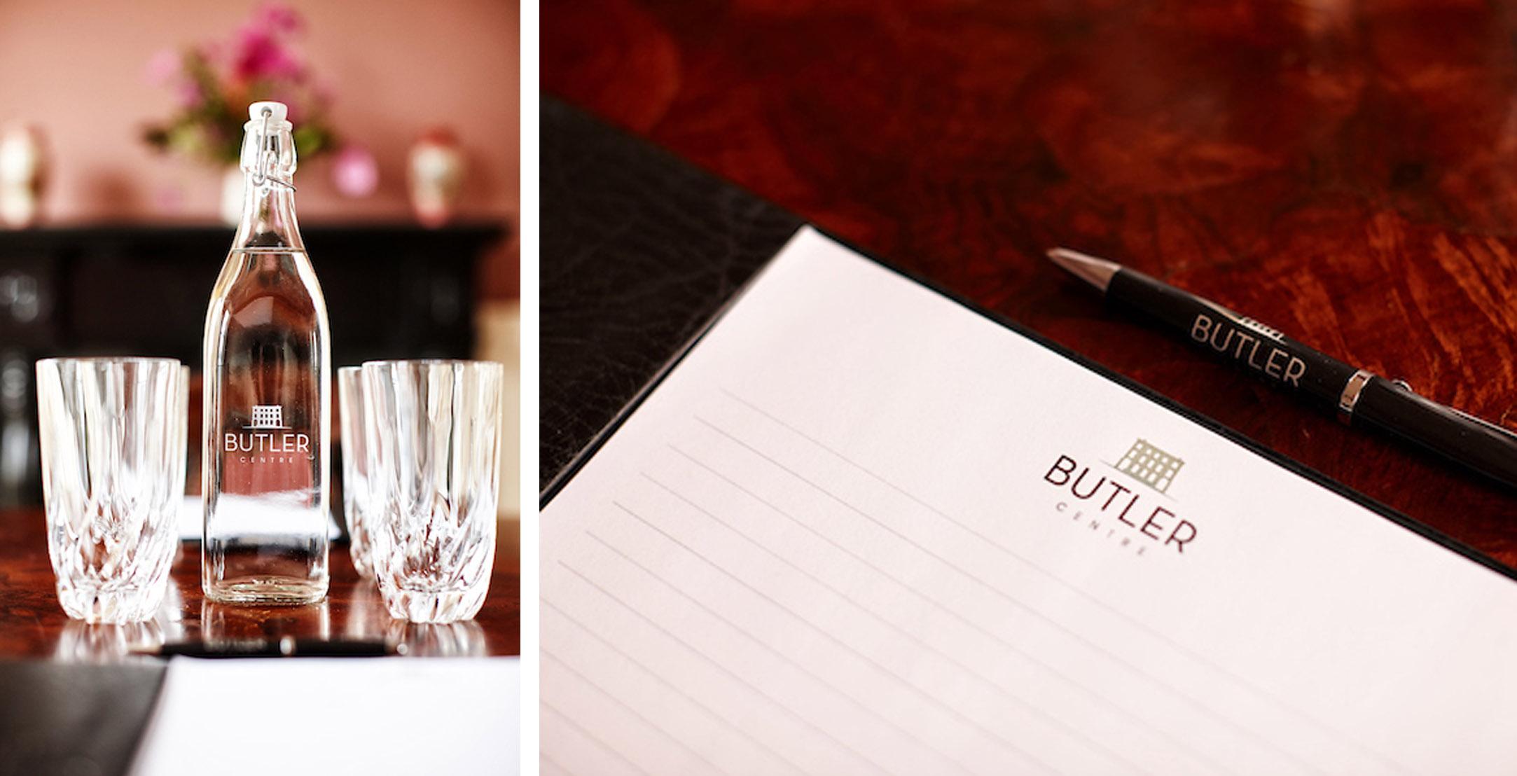 butler centre branding