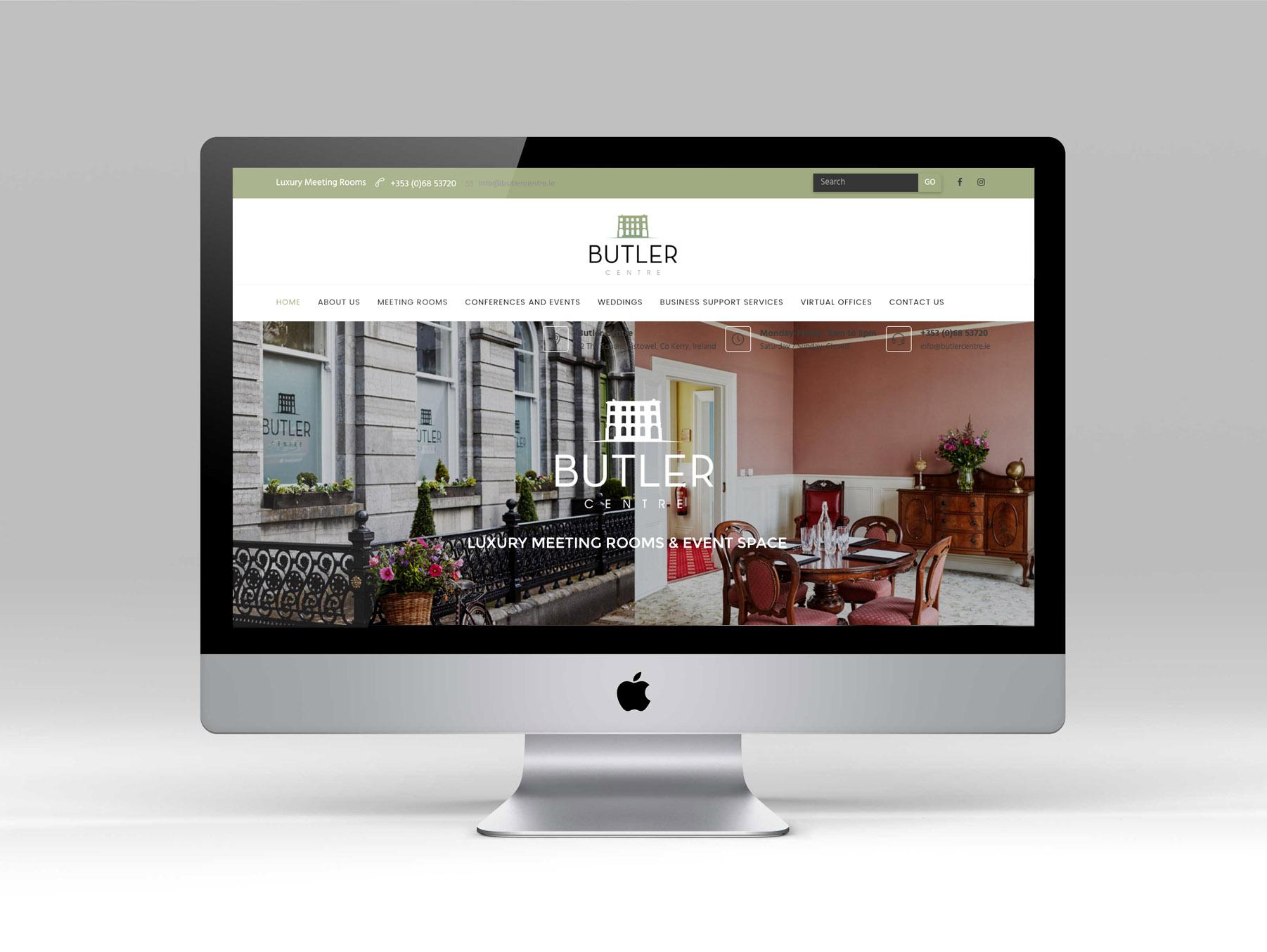 butler centre web design kerry